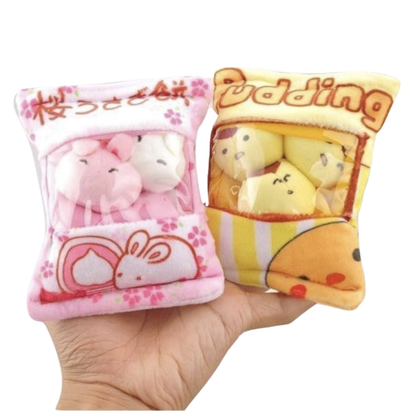 Littlest Bag Of Plushies - stuffed animal