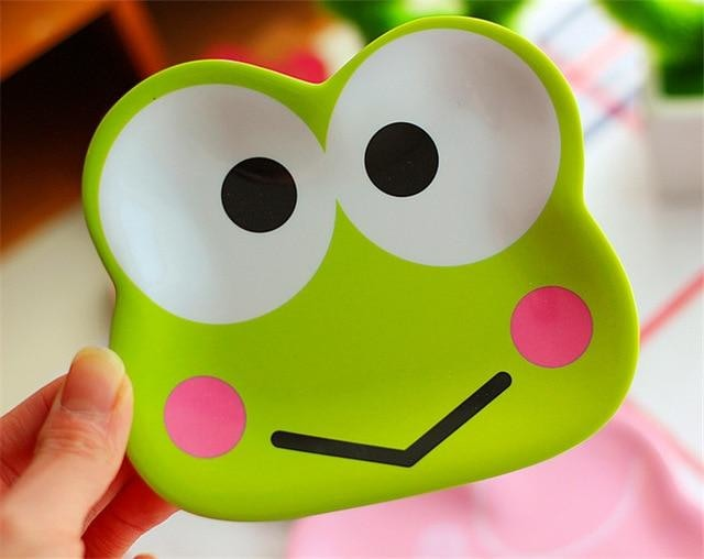 Littlest Dinner Plates - Keroppi Frog - dinner