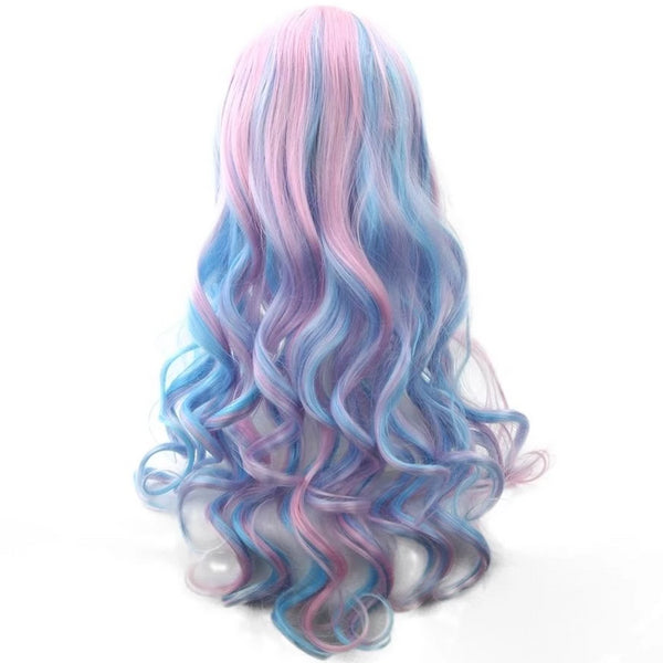 Long Cotton Candy Wig - wig