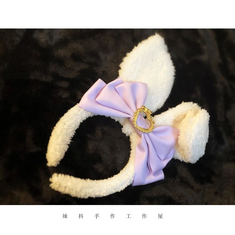 Luxury Bunny Headband - Lavender - bags