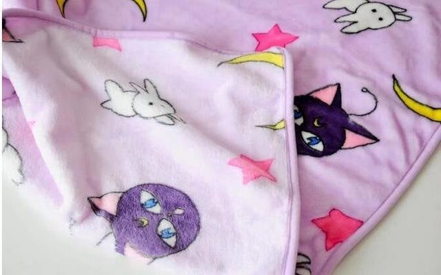 Magic Moon Fuzzy Blanket - artemis, blanket, blankets, blankies, furry
