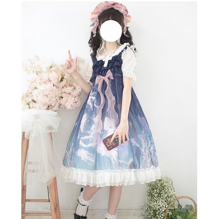 Majestic Jellyfish Lolita Dress - lolita dress