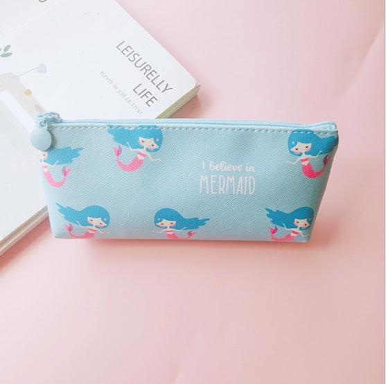Majestic Unicorn Pencil Case - Blue Mermaid - bag