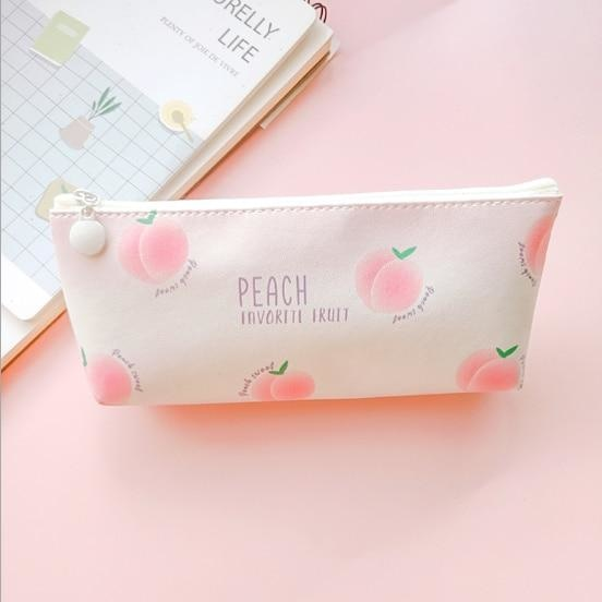 Majestic Unicorn Pencil Case - Peach 1 - bag
