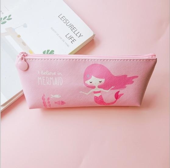 Majestic Unicorn Pencil Case - Pink Mermaid - bag