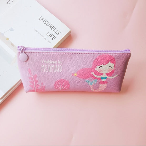 Majestic Unicorn Pencil Case - Purple Mermaid - bag
