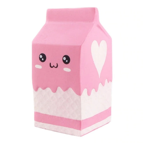 Milk Carton Squishy - Pink - squishy