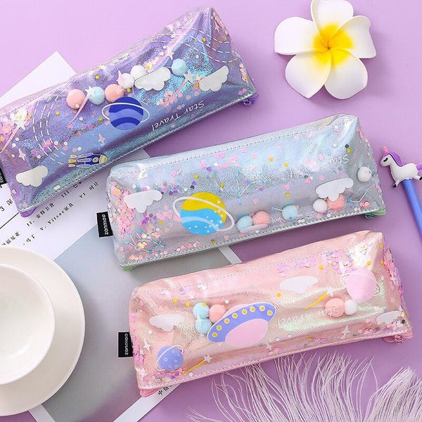 Milky Galaxy Cosmetic Bag - accessories