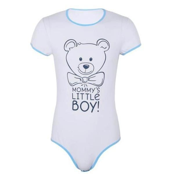Mommys Little Boy Onesie - M - onesie