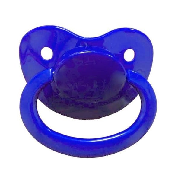 Navy Blue Adult Pacifier Binkie Soother ABDL CGL Age Play Fetish Kink by DDLG Playground