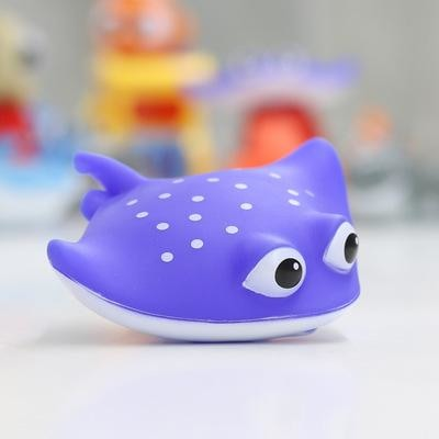 Finding Nemo Bath Toy Set Manta Ray Kawaii Rubber Ducky Floating Little Space CGL by DDLG Playground