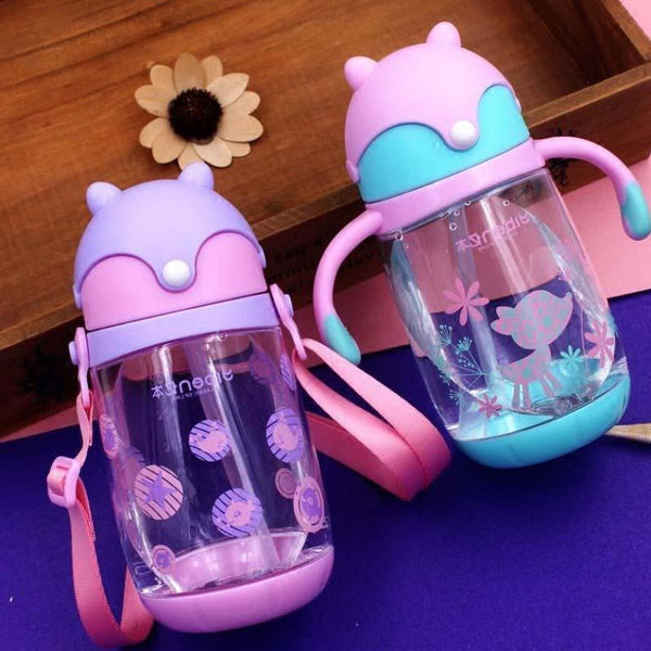 Pastel Fox Sippy Cups - Pink or Purple - sippy cup