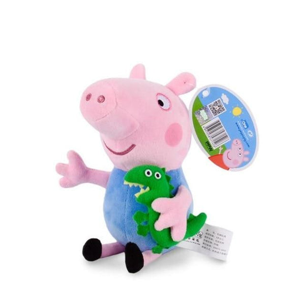 Cute Peppa The Pig George Stuffed Animal Plush Toy Soft Plushies Cute TV
