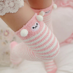Pink Monkey Thigh Highs - abdl,adult babies,adult baby,adult baby diaper lover,age play