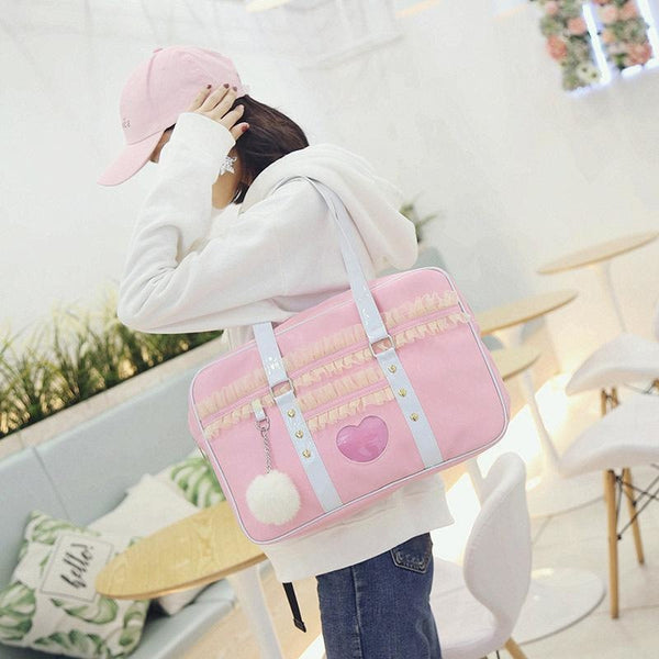 Pink Princess Duffle Bag - Purse