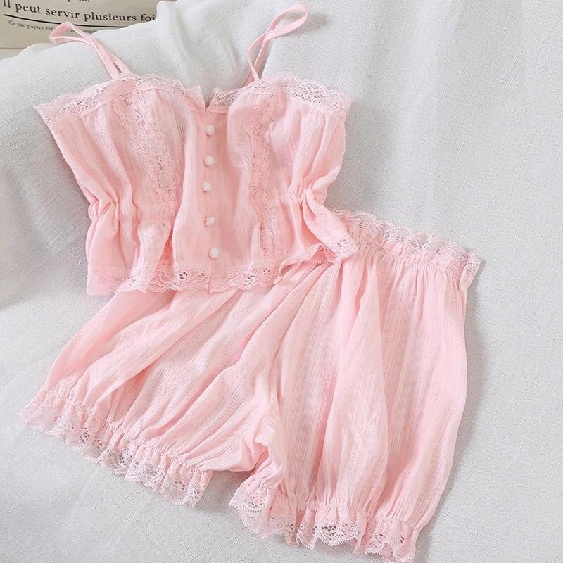 Pink Princess Jammies - pajamas