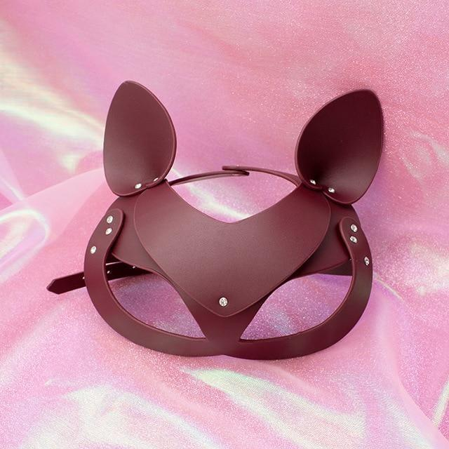 Cat Wolf or Pony Eye Mask - diaper