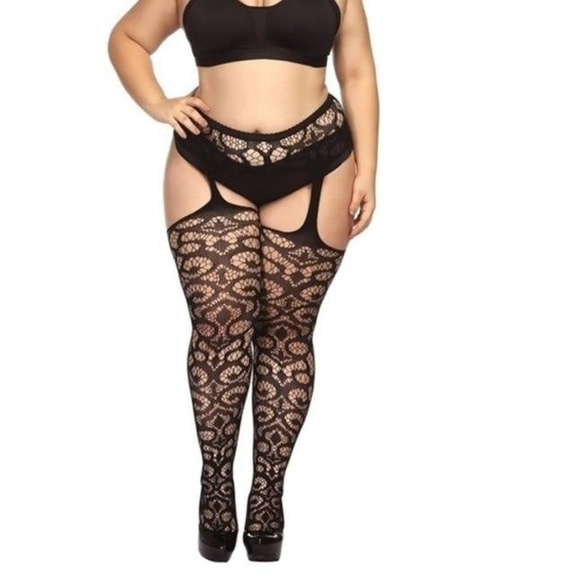 Plus Size Pantyhose - Style 5 - tights