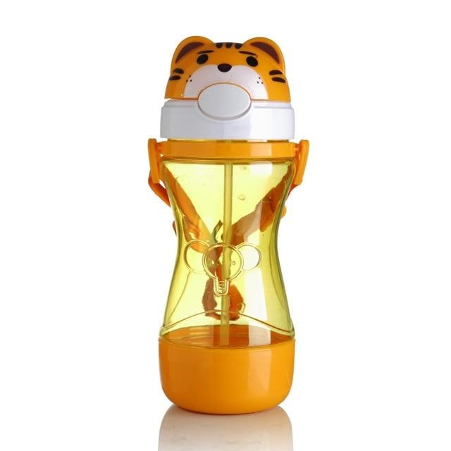 Kawaii Orange Tiger Pop Top Animal Sippy Cups Baby Water Bottles ABDL CGL Ageplay  by DDLG Playground