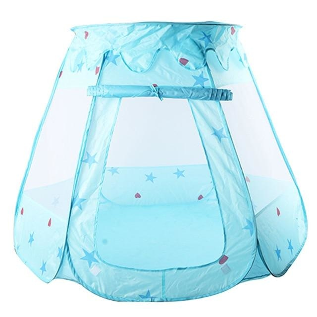 Blue Star Ball Pit Playpen Play Tent ABDL CGL Littlespace Ageplay Adult Baby by DDLG Playground