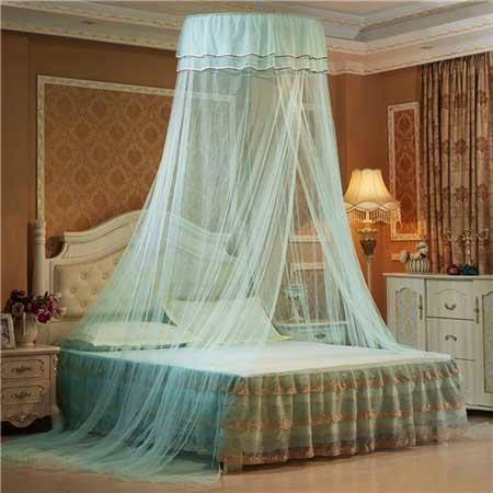 Princess Bed Canopy (6 Colors) - Light Green - bedding