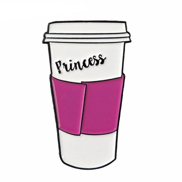 Princess Latte Enamel Pin - pin