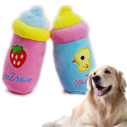 Bottle Plush Squeaky Toys