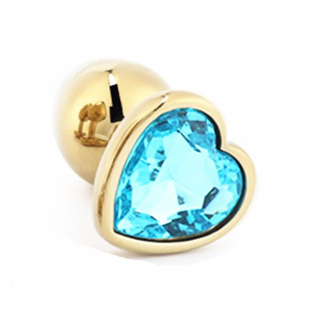 Golden Heart Plugs