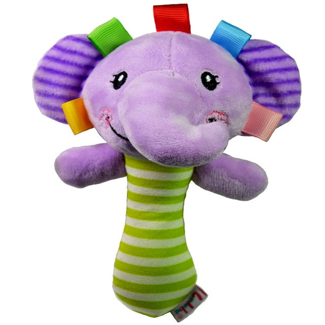 Soft Animal Rattle (5 Styles)
