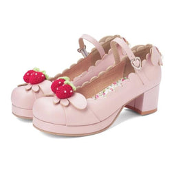 Berry Babe Mary Janes