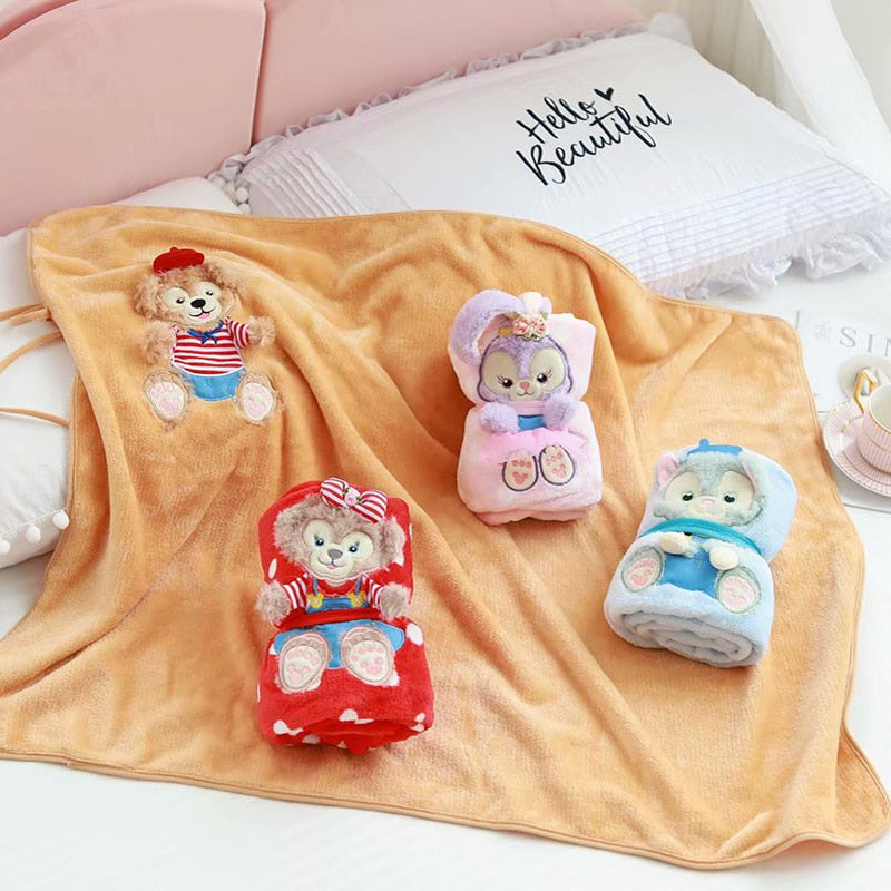 Plush Roll Up Blankets