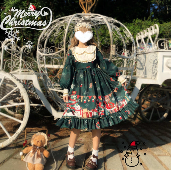 Holiday Wishes Lolita Dress