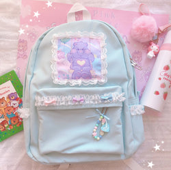 Pastel Bear Backpack