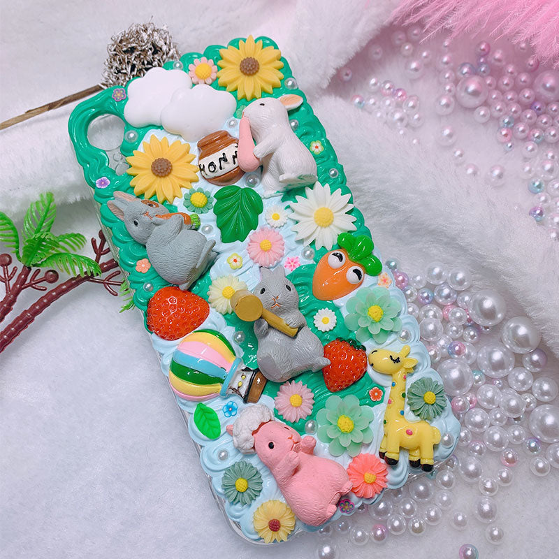 Spring Bunny iPhone Case