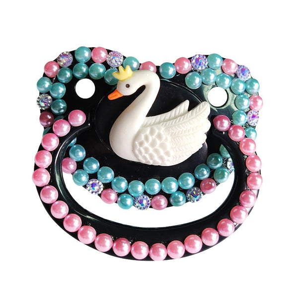 Black Swan Deco Pacifier