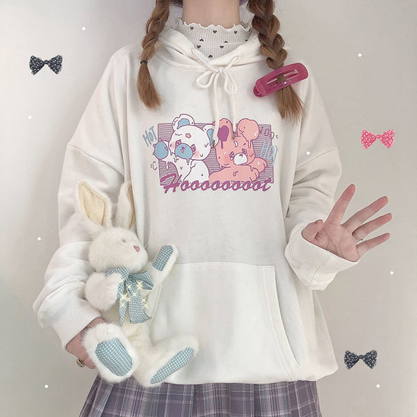 Melting Candy Bear Hoodie