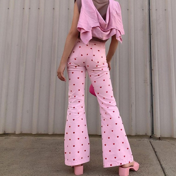Valentine Baby Bell Bottoms