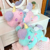 magical unicorn plush toy tissue box cover little twin stars sanrio pastel fairy kei cgl abdl by ddlg playrgound