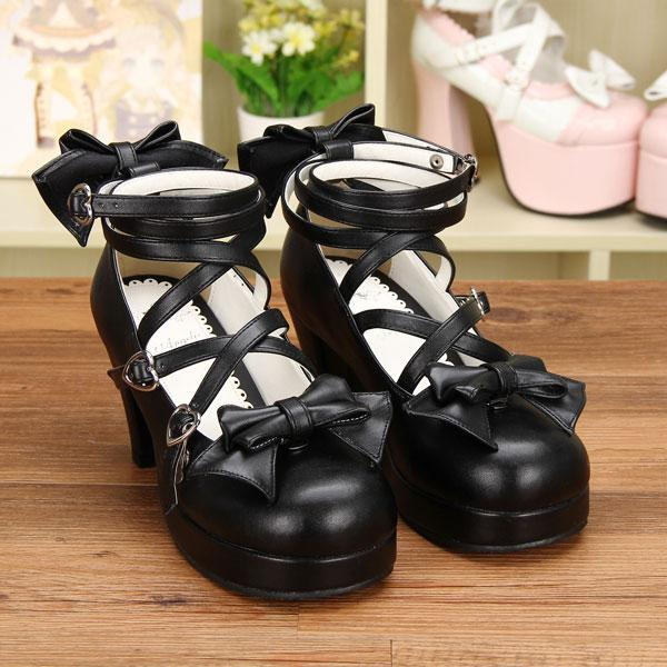 strappy ankle straps lolita shoes sweet princess egl traditional chic elegant dress shoes heels block heel harajuku japan fashion by kawaii babe