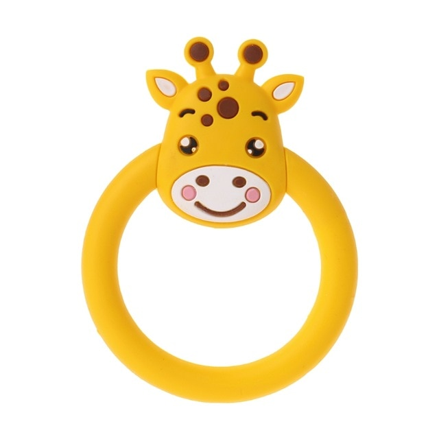 Rubber Yellow Giraffe Adult Teether Toy Kink Fetish ABDL CGL by DDLG Playground