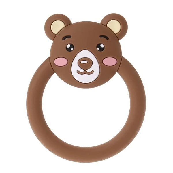 Rubber Brown Bear Adult Teether Toy Kink Fetish ABDL CGL by DDLG Playground