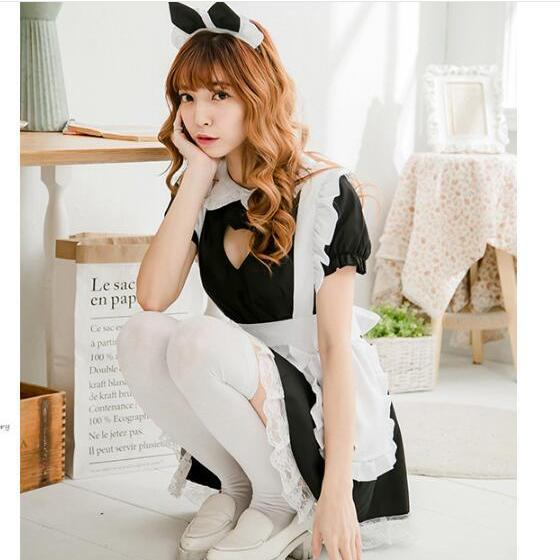 Complete Neko Maid Outfit