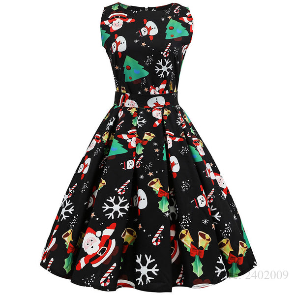 Festive Sleeveless Dress