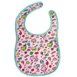 Pink Kawaii Animal And Food Adult Baby Bib Large Size Feeding ABDL CGL Kink Fetish by DDLG Playground
