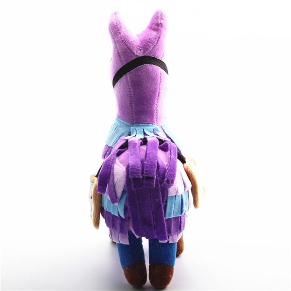 Purple Alpaca Plush - stuffed animal