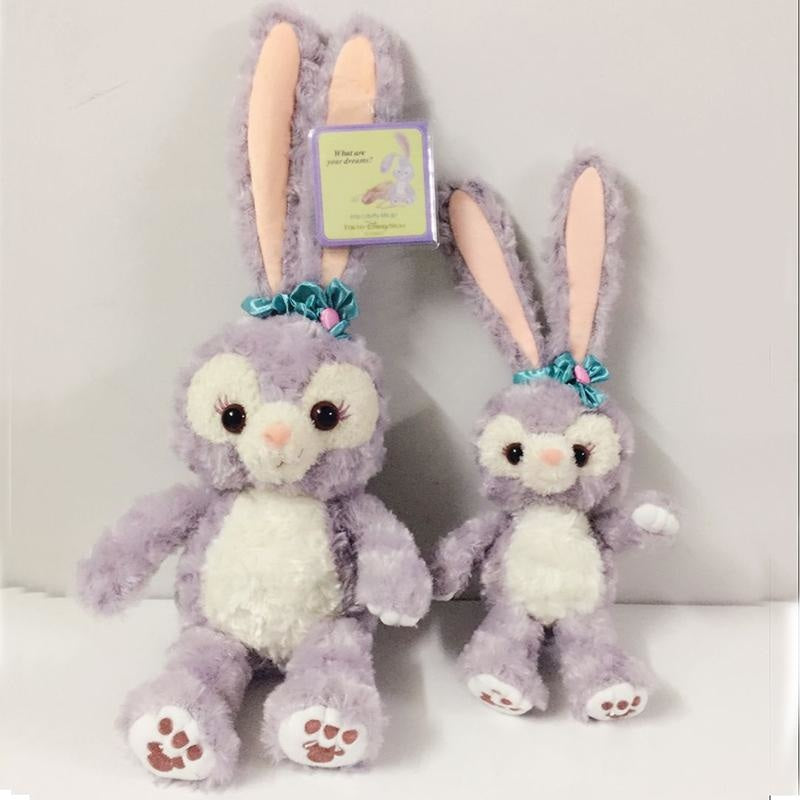 Stellalou Purple Bunny Rabbit Plush Toy Soft Stuffed Animal Kawaii Little Space CGL ABDL by DDLG Playground