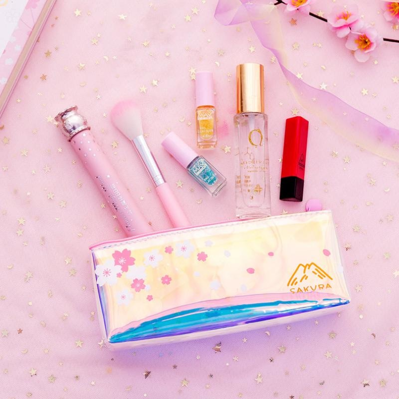 Sakura Blossom Pencil Bag - cosmetic bag