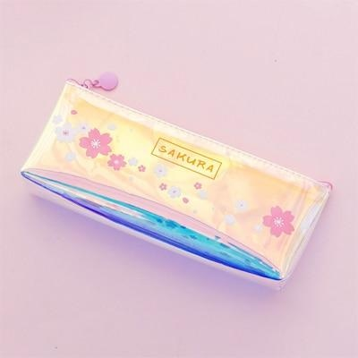 Sakura Blossom Pencil Bag - Style 2 - cosmetic bag