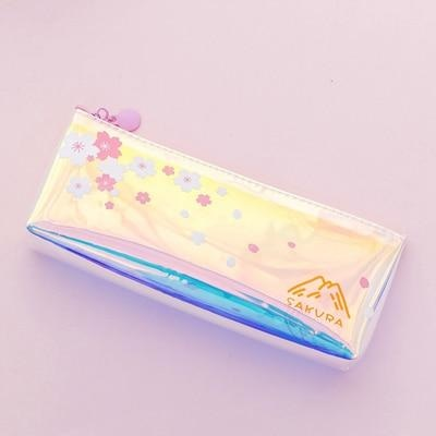 Sakura Blossom Pencil Bag - Style 4 - cosmetic bag