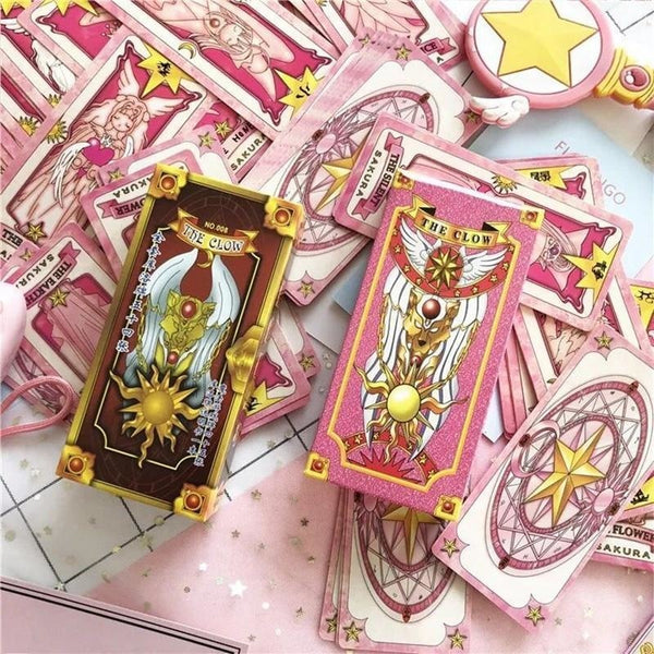 Card Captor Sakura Playing Card Deck Poker Magical Girl Mahou Shoujo Kawaii Otaku